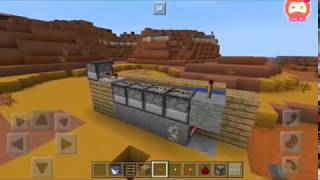 Watch me play Minecraft - Pocket Edition how to make a red stone cannon in mcpe 1.1.0 b9