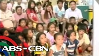 Knowledge Channel kag Citicore Foundation nag-turn-over sang tv sa eskwelahan   TV Patrol