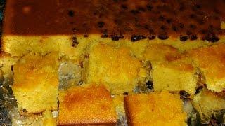 3- MILKS CORN BREAD- 3- Leches  Pan  De Maiz