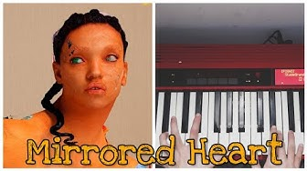 Mirrored Heart - FKA Twigs (Piano Accompaniment Tutorial)  #chords #Magdelene : how to play
