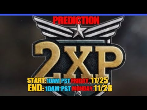 """COD WW2:""""PREDICTING THE NEXT DOUBLE XP WEEKEND!!"""""""