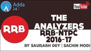 the analyzer rrb ntpc 2016 17