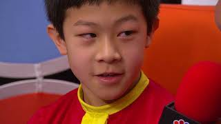 Flashback: 10-year-old Nathan Chen looks forward to Olympics
