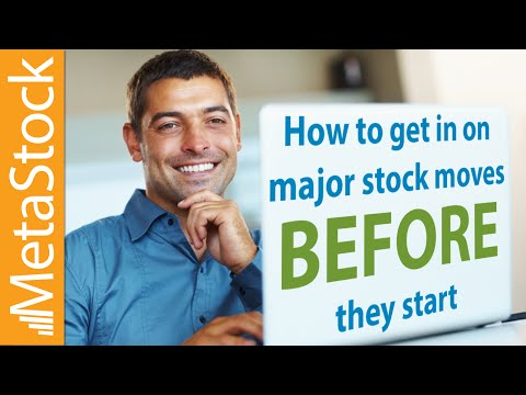 How to Get in on Major Stock Moves BEFORE They Start