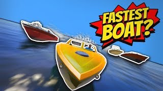 GTA 5 | What is the FASTEST BOAT?