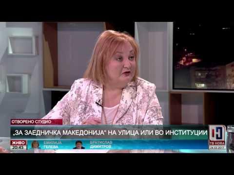 """""""За заедничка Македонија"""" на улица или во институции - ТВ Нова 24.03.2017"""