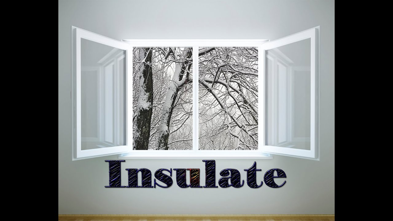 Winter Trick ☺ Insulate Your Windows For Free☻