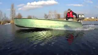 Лодка Казанка и Ямаха 25 КАЗЯМА
