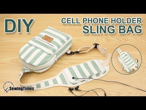 DIY Crossbody Sling Bag | 메신저백 슬링백 | Messenger bag tutorial and sewing pattern [sewingtimes]