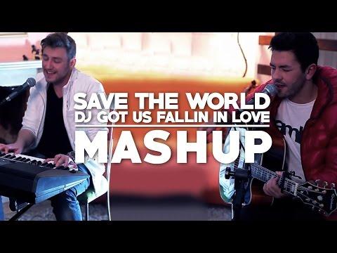 Save The World & Dj Got Us Fallin&39; In Love Malbec Trio MASHUP
