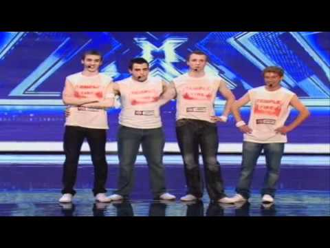 Temple Fire - Micheal McCarthy - Noel Keegan - Laura O'keefe - X Factor - Auditions 2010