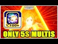 🔥1,100+ BRAVE SOUL TICKETS - 5S MULTIS ONLY - NEW ANIMATIONS 🔥 Bleach Brave Souls