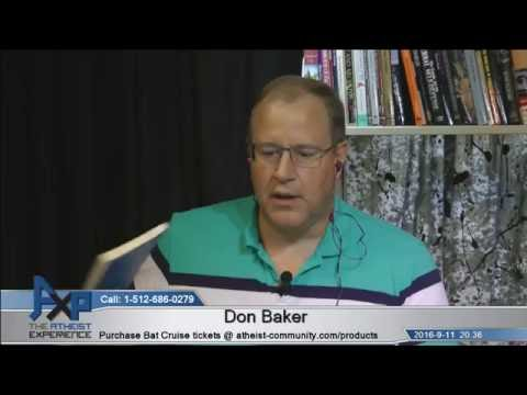 Atheist Experience 20.36 with Matt Dillahunty and Don Baker