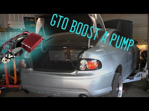 06 Pontiac GTO How to install a Kenne Bell Boost-A-Pump Install