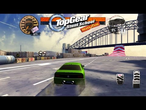 Top Gear : Stunt School Revolution /Car Racing / Videos Games for Children / Windows PC Games