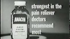 anacin pain 18 times 1964.