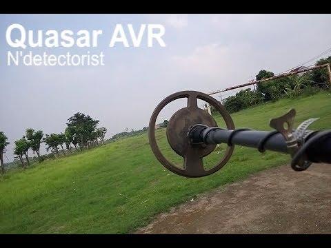Quasar VLF/ib metal detector tes lapangan 2
