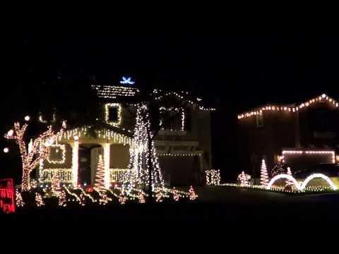 Porky Pig Blue - Christmas Light Show 2012 - Light-o-Rama LOR RunyanLights.com