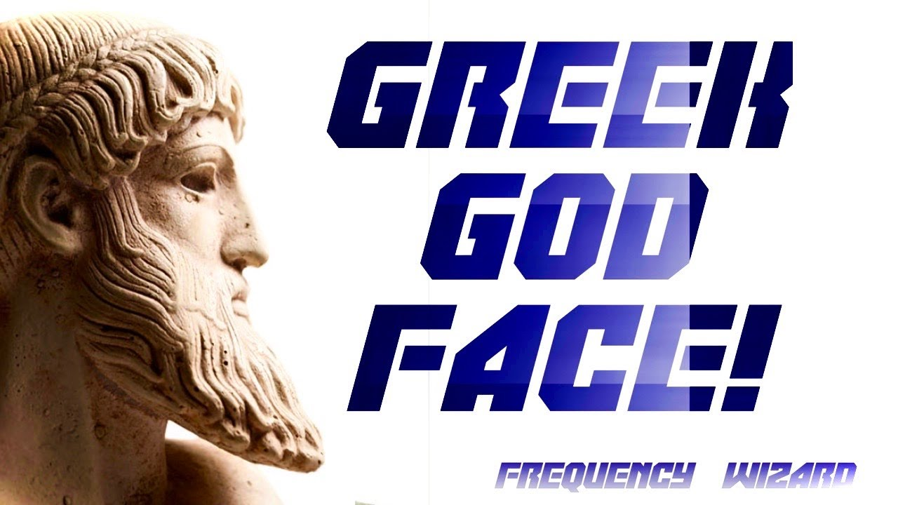 GET CHISELED GREEK GOD FACIAL FEATURES FAST! BINAURAL BEATS FREQUENCY WIZARD