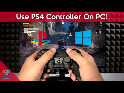 How to Use PS4 Controller On PC (Windows 10)