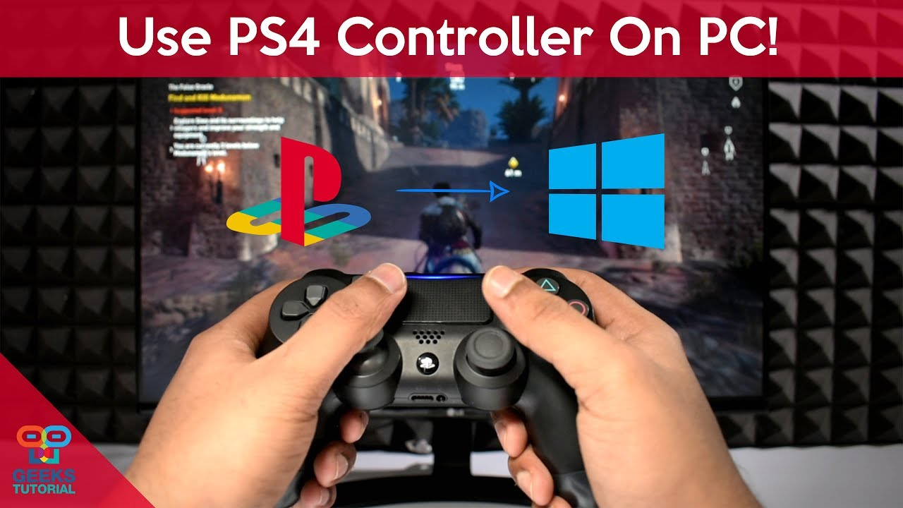 ps4 controller drivers for windows 10