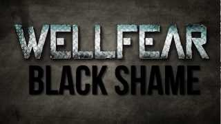 wellfear black shame official lyric video