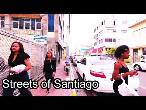 Dominican Republic - Streets of Santiago - 2017 (4K)