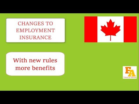 CANADA CHANGE EI RULES || Changes to employment insurance - 2017