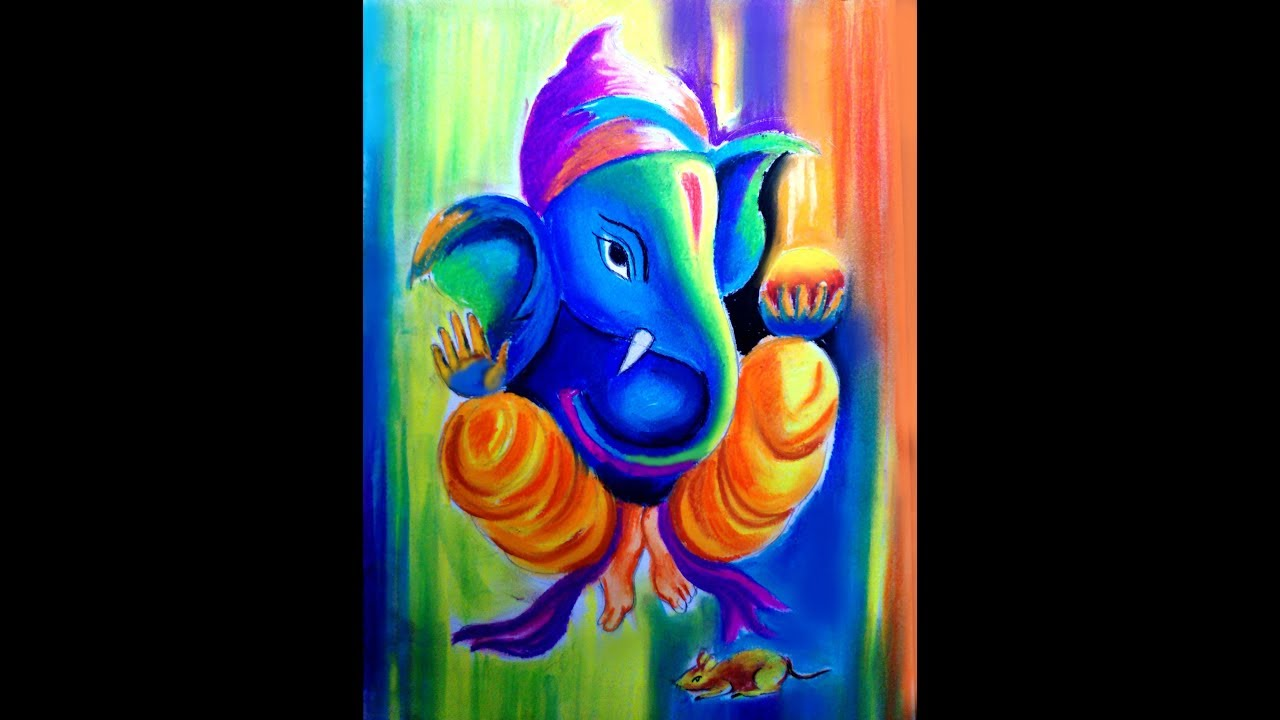 How To Draw Lord Ganesha Step By Step Techniques Youtube