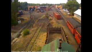 7/16/2018 Eight car train 216 departs Chama, NM