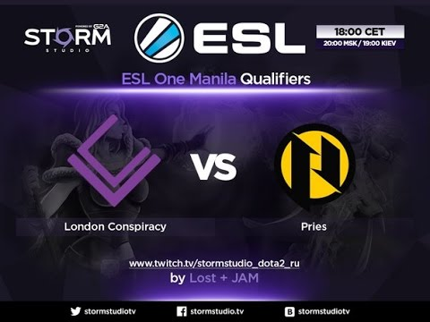 LC vs PRIES, game 1 | ESL One Manila EU Qualifier