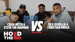 Deji Oshilaja and Christian Mbulu Vs Stevo The Madman and Craig Mitch - Hold The L