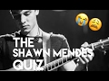 THE HARDEST SHAWN MENDES QUIZ (if You're Not In The Mendes Army)
