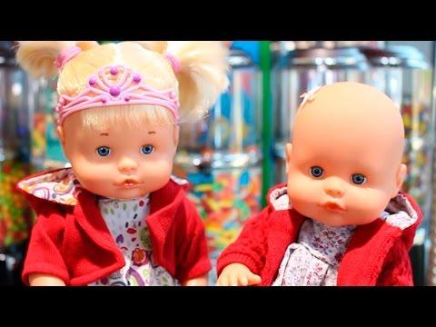 Aventuras Bebés Nenuco Hermanitas Traviesas y Ksi Meritos en el Centro Comercial en los Caballitos