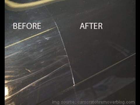 Remove Car Scratches With Toothpaste >> Remove Car SCRATCH at home - Fix car scratches - YouTube