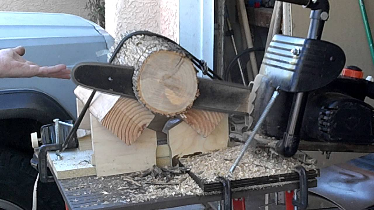 Chainsaw Chop Saw Homemade Youtube