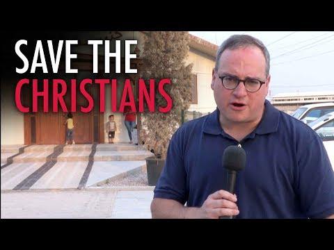 Ezra Levant in Iraq: Inside a Christian refugee camp in Erbil