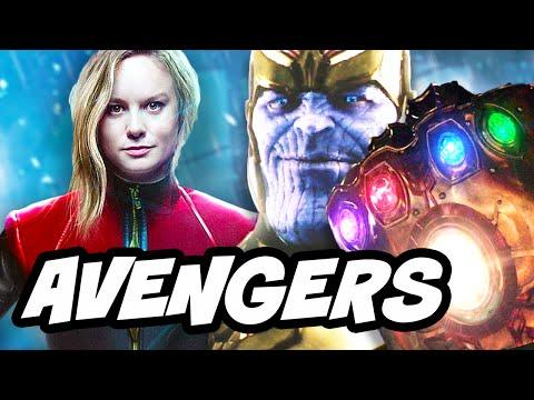Avengers Infinity War Captain Marvel Breakdown