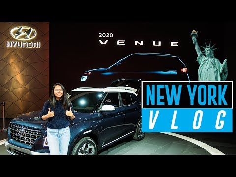 New York City Vlog With Hyundai Venue | #RealTalkTuesday | MostlySane
