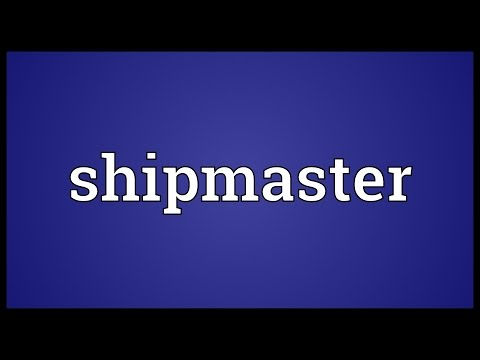 Header of shipmaster