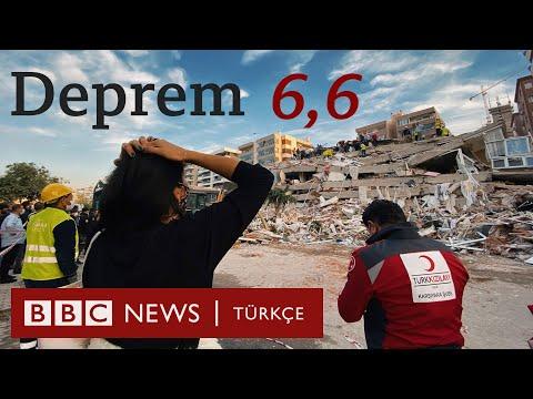 İzmir'de deprem: 6,6
