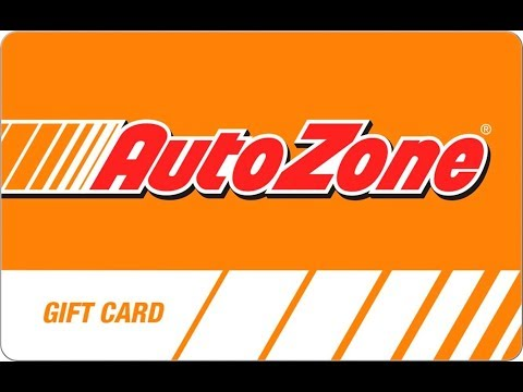 How To Get FREE AutoZone Gift Cards!
