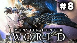Monster Hunter World Story Gameplay Part 8 - Hunts, Story and Insect Glaive! (Story Lets Play)