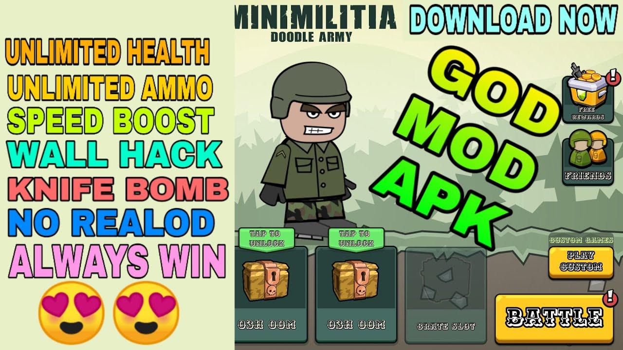 Hack mini militia Download Mini