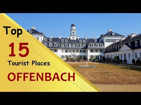 """offenbach""-top-15-tourist-places-