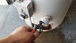 Water Heater Leak Repair. EASY!!!