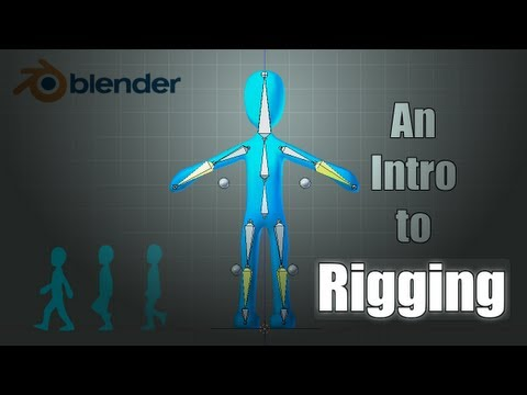 Blender Tutorial: Basics of Character Rigging