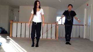 My brother and I dancing to buy you a drink by somo (: