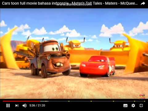 Cars Mcqueen Mater Bahasa Indonesia Youtube