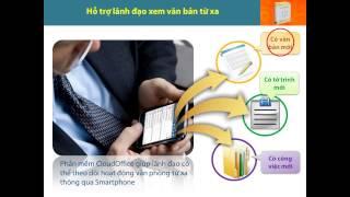 Văn phòng điện tử CloudOffice - Phần mềm quản lý công việc, công văn, văn phòng điện tử